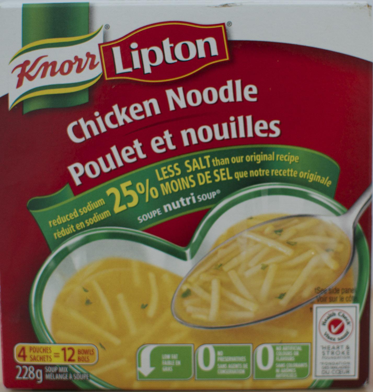 soupe lipton