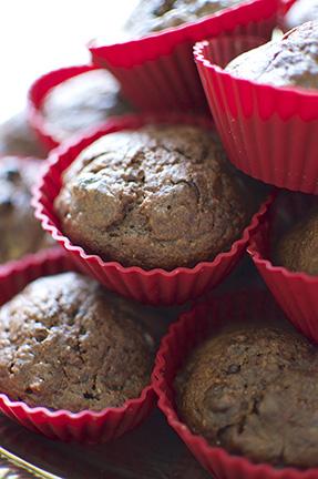 muffin double choco banane