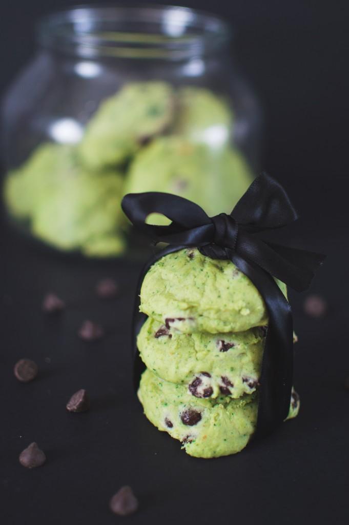 biscuit menthe et chocolat