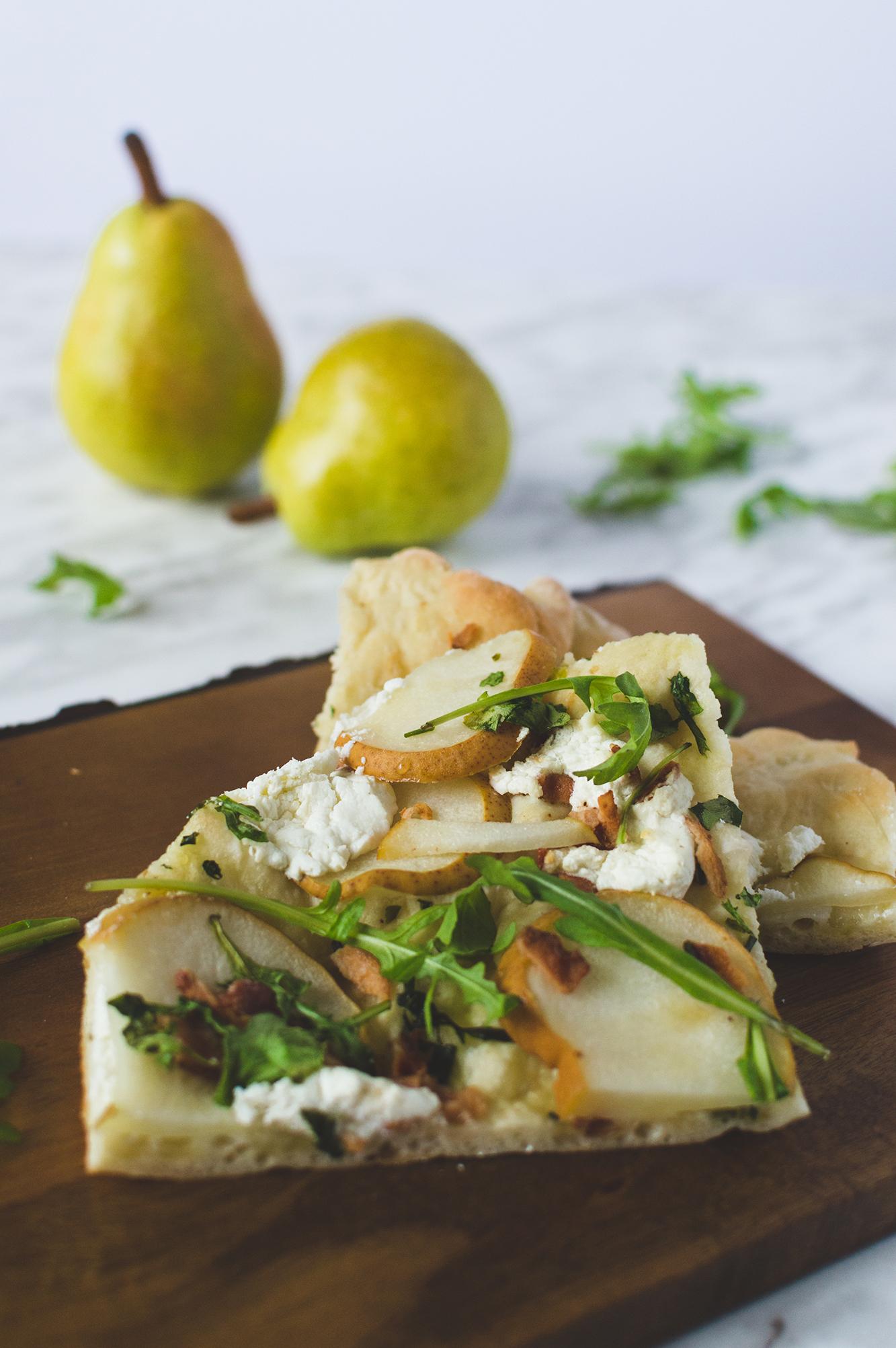 pizza fromage chevre et poire-2