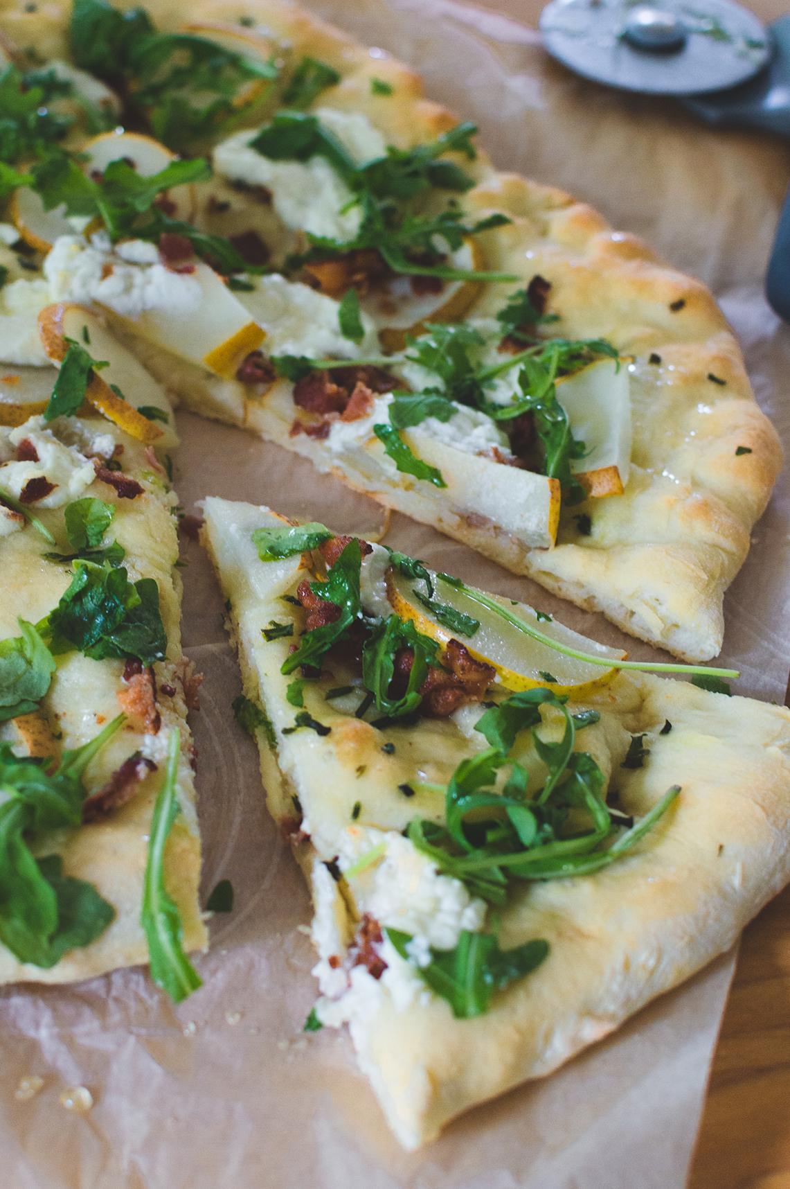 pizza fromage chevre et poire-3